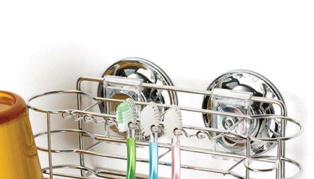 Những mẹo vặt cực hay giúp phòng tắm trở nên gọn gàng hơn với phụ kiện hút chân không