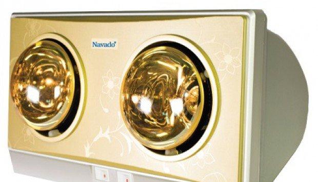 Cách sử dụng đèn sưởi nhà tắm tiết kiệm và bền