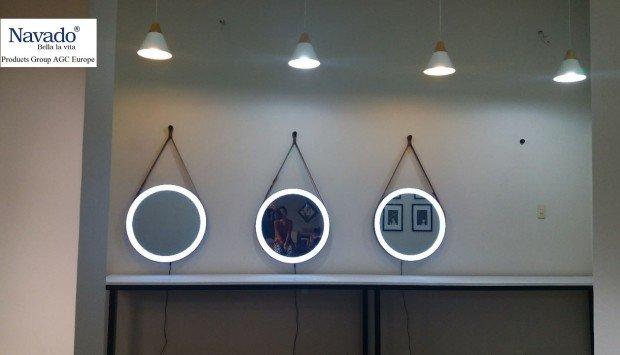 Sản xuất bán gương trang trí treo tường nghệ thuật Hà Nội