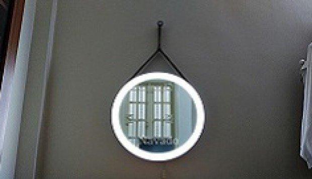 Gương đèn led cho phòng ngủ trở nên thu hút