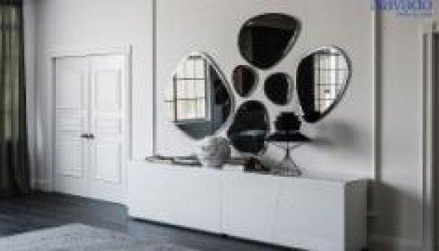 Trang trí không gian nội thất hiện đại với gương Navado