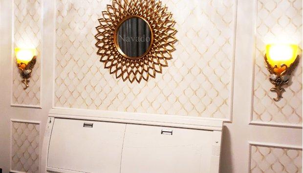 Gương phòng ngủ mang phong cách tân cổ điển