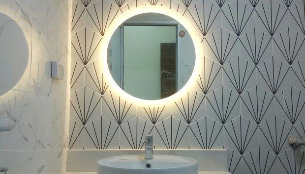 Gương treo phòng tắm Việt Trì
