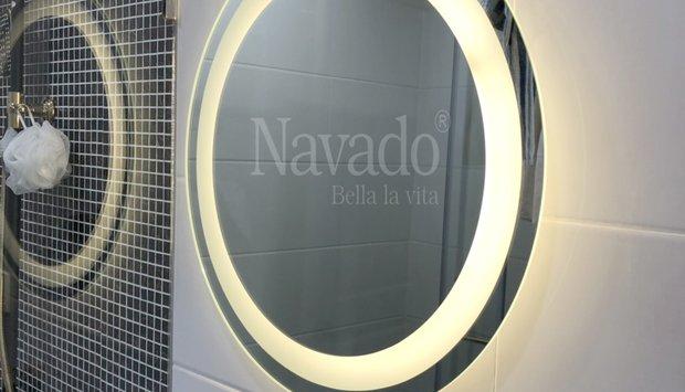 Gương đèn led nhà tắm đẹp lung linh từng căn phòng