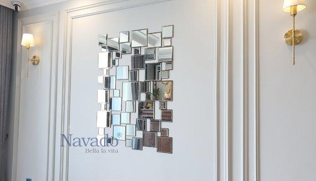 Gương trang trí nội thất cho ngôi nhà xinh
