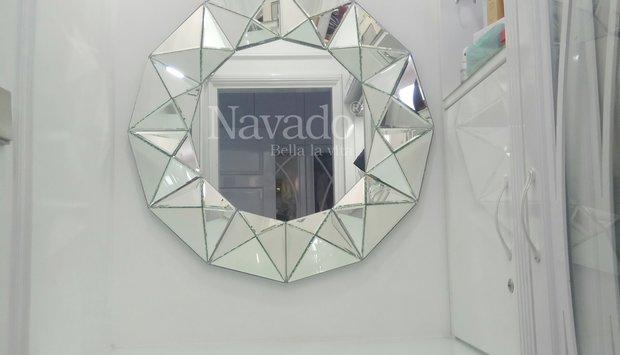 Gương treo tường-Bí quyết trang trí nội thất đẹp