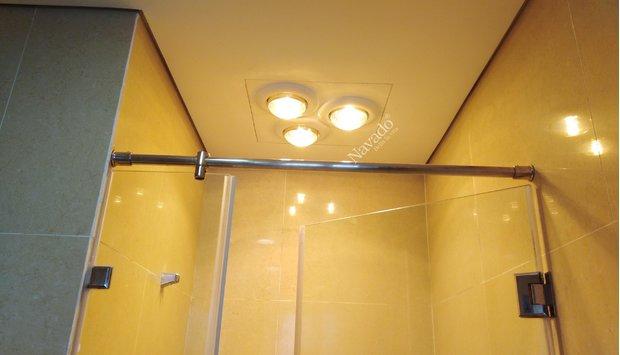 Vì sao đèn sưởi âm trần được sử dụng nhiều cho biệt thự cao cấp?