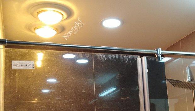 Cách lắp đặt đèn sưởi âm trần đẹp và an toàn phòng chống cháy nổ