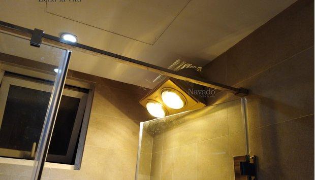 Đèn sưởi phòng tắm navado