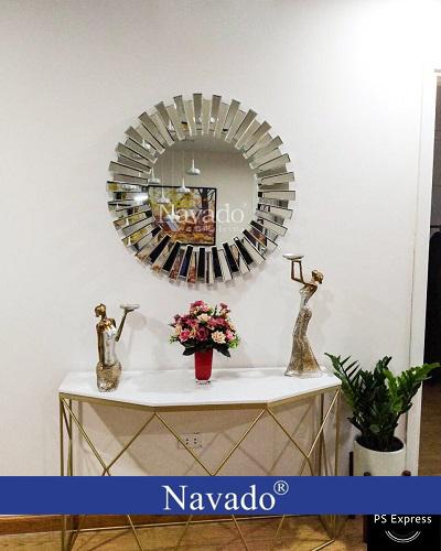 Gương decor treo phòng khách Mystery