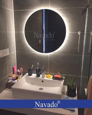 Gương đèn led phòng tắm sang trọng