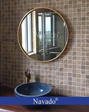 Gương phòng tắm tân cổ điển Oras 80cm