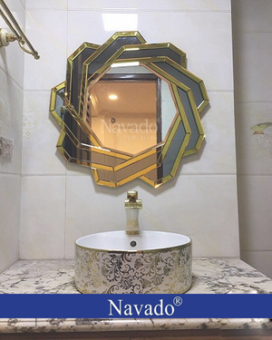 Gương trang trí phòng tắm Spider