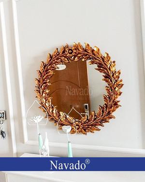 Gương treo trang trí phòng khách Eros