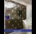 Gương ghép tường phòng khách sang trọng