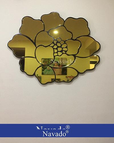 Gương treo tường Rose Gold