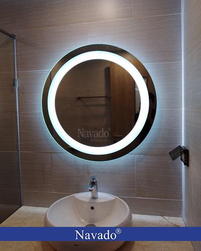 Gương phòng tắm đèn led luxury bathroom