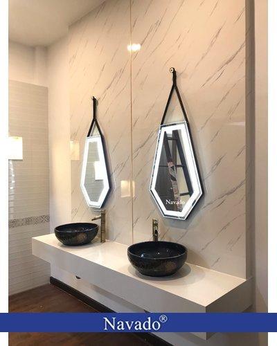 Gương đèn led phòng tắm Daimon