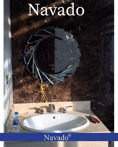 Gương phòng tắm đẹp Diana 80cm