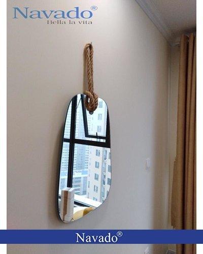 Gương treo tường decor rẻ quạt Navado