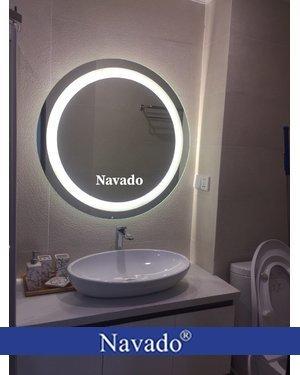 Gương tròn đèn led phi 80cm