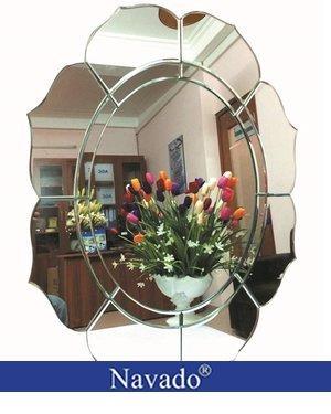Gương trang trí phòng tắm Lotus