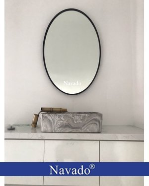 Gương phòng tắm elip 603C