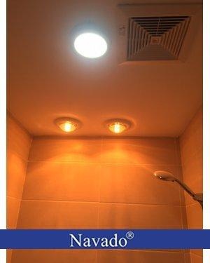 Đèn sưởi nhà tắm Navado