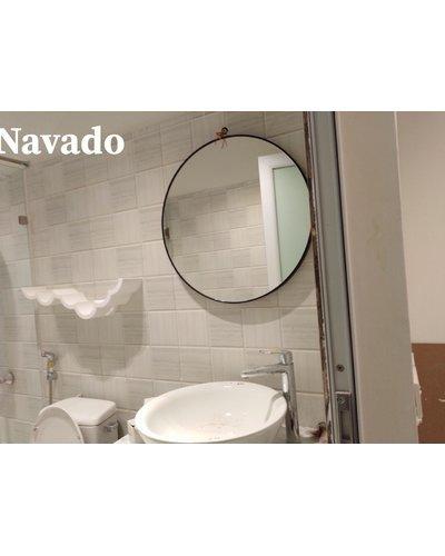 Gương phòng tắm tròn Optima 60cm