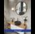 Gương tròn treo trang trí Optima 70cm