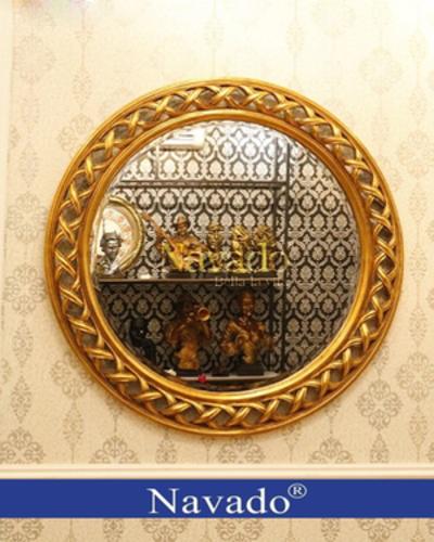 Gương trang trí treo tường Helios