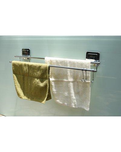 Kệ vắt khăn hít dán chân không GS-5009