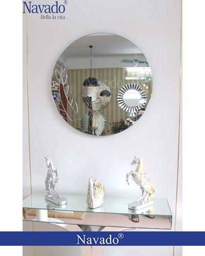 Gương treo bàn trang điểm Elsa 80cm
