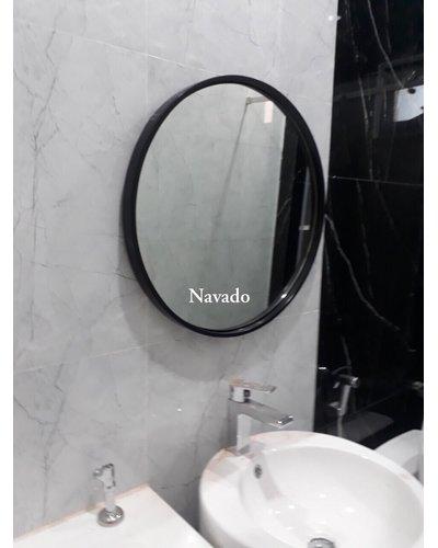 Gương tròn treo tường Optima 60cm