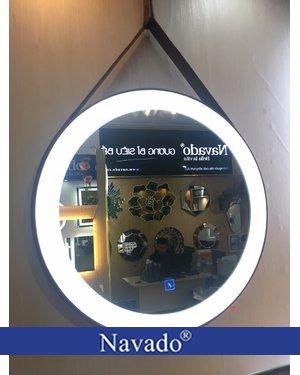 Gương trang điểm đèn led 50cm navado