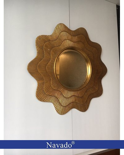 Gương tân cổ điển phòng khách Hestia