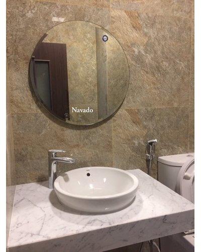 Gương tròn nhà tắm Navado 60cm