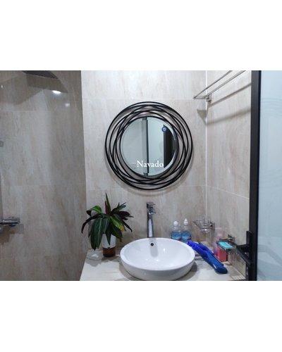 Gương tròn phòng tắm Galaxy 60cm