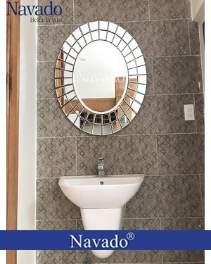 Gương phòng tắm trang trí Navado Minano