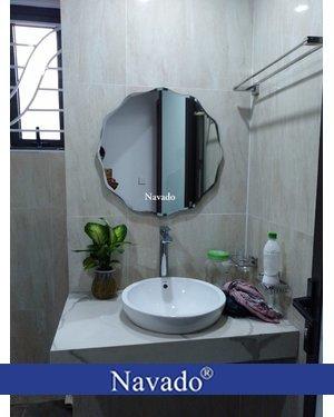 Gương tròn thiết bị vệ sinh NAV 543C