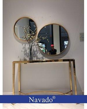 Gương phòng khách tròn Oras