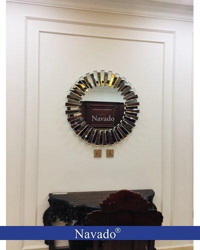Gương trang trí phòng khách nghệ thuật mestasy