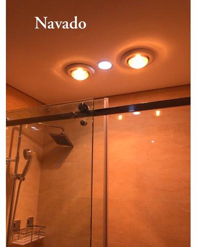 Đèn sưởi hồng ngoại 1 bóng âm trần Navado