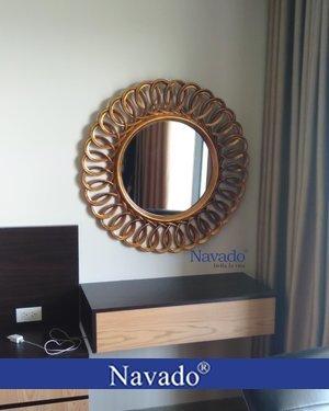 Gương trang điểm tân cổ điển Nesoi 60cm