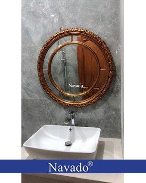 Gương soi phòng tắm tân cổ điển Aura