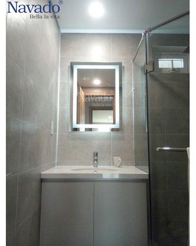 Gương phòng tắm led 600 x 800mm