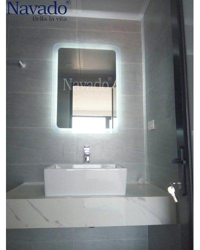 Gương phòng tắn led hắt 50x70cm