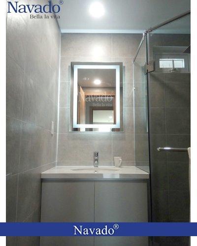 Gương phòng tắm đèn led cao cấp nghệ thuật Navado