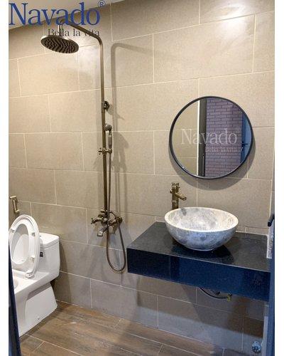 Gương nhà tắm Optima D600mm