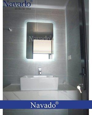 Gương đèn led hắt phòng tắm navado